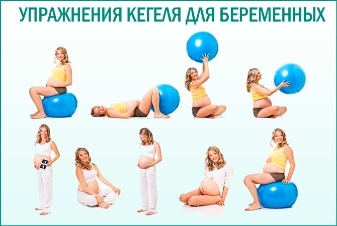 Как делать упражнение кегеля для беременных 3
