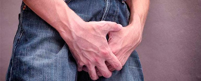 Небольшая боль при мочеиспускании у мужчин