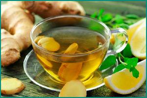 Чай на основе имбиря