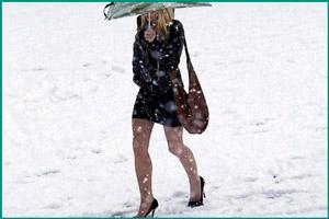 Одета не по погоде