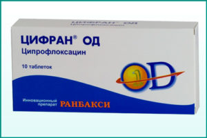 Применение препарата Цифран при цистите