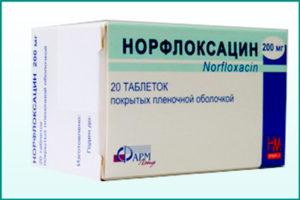 Препарат «Норфлоксацин»