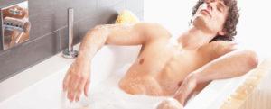 Теплая ванна при простатите