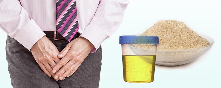Глина с мочой для лечения простатита
