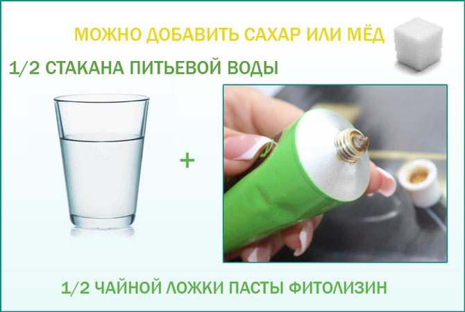 Как пить Фитолизин
