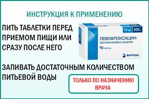 Левофлоксацин: как принимать