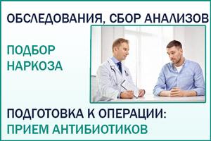 Операция при простатите: подготовка