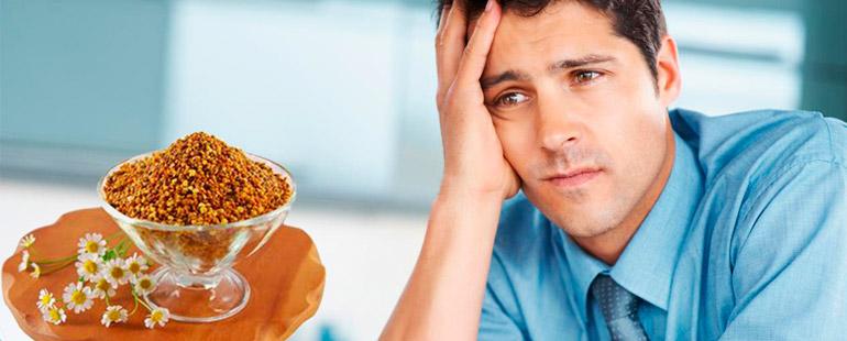 Полезные свойства перги для успешного лечения простатита