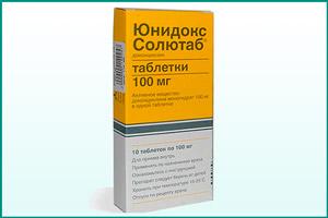 Препарат Юнидокс солютаб