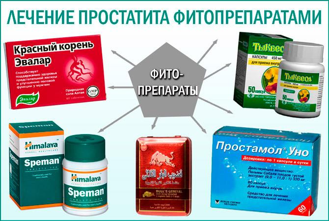Фитопрепараты для лечения аденомы простаты