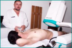 Использование физиотерапии при простатите