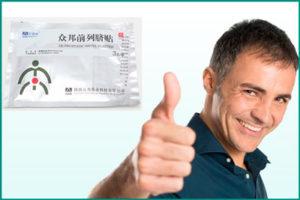 Китайские пластыри в борьбе с простатитом