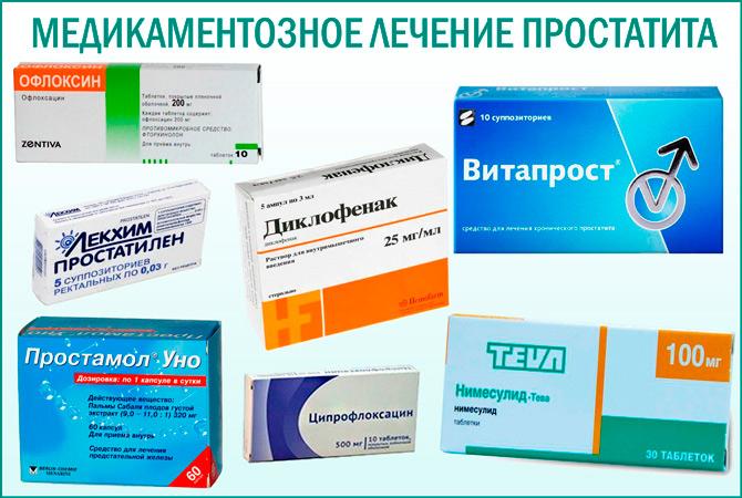 препараты для лечения простатита обзор