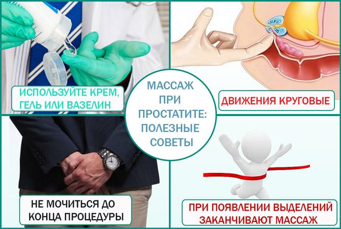 Какие крема используют для массажа простаты