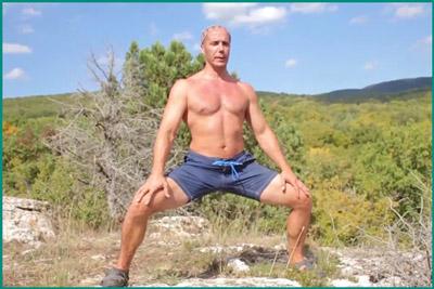 Занятие физкультурой