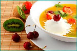 Заболевании почек: фруктовый суп