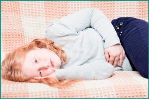 Боли внизу живота у ребенка: причины