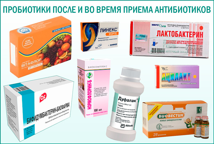 Лучшие пробиотики при приеме антибиотиков