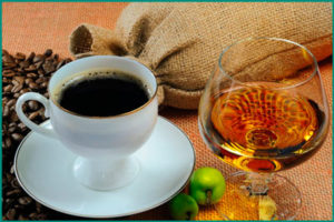 Исключение алкоголя и кофеина