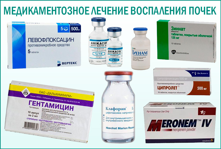Антибиотик от воспаления почек