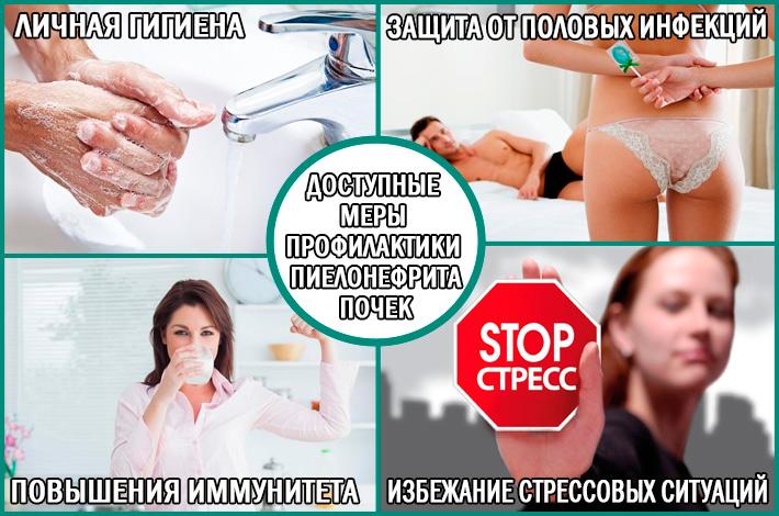 Пиелонефрит: доступные меры профилактики