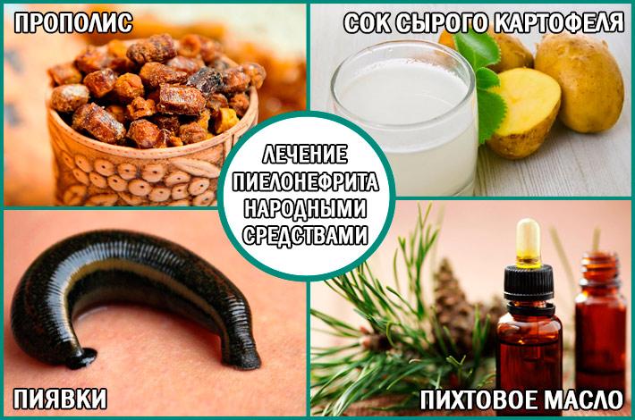 Пиелонефрит: лечение народными средствами
