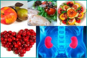 Диета при кисте почки: принципы питания
