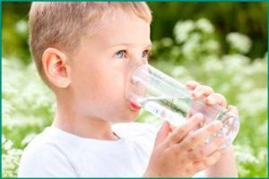 Как соблюдать питьевой режим ребенка