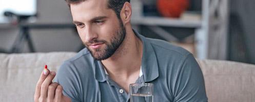 Подавление потенции у мужчин посредством применения брома