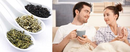 Зелены чай влияет на импотенции