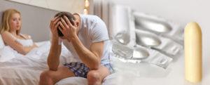 Лечение половой дисфункции у мужчин суппозиториями