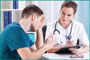 Посещение врача пациентом