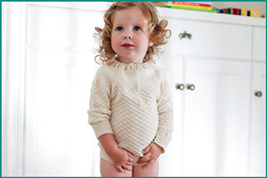 Ребенок с циститом