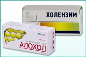 Препараты для выделения желчи