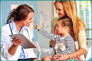 Посещение детского врача