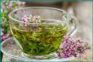 Чай с материнкой
