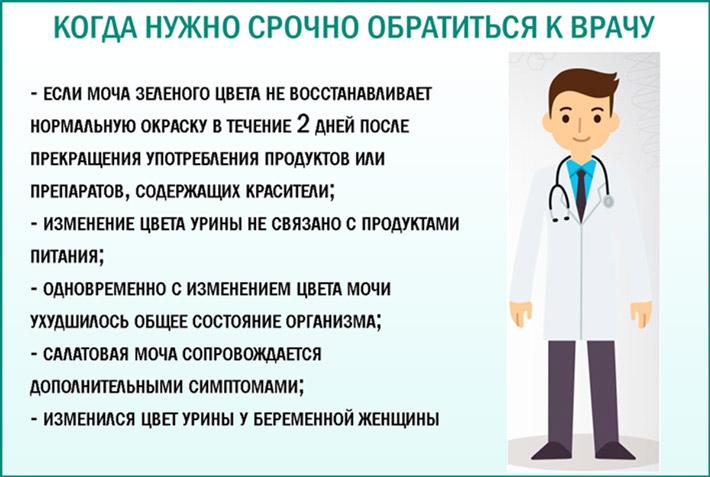 Причины пойти к врачу
