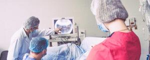 Установка стента в мочеточник и его удаление